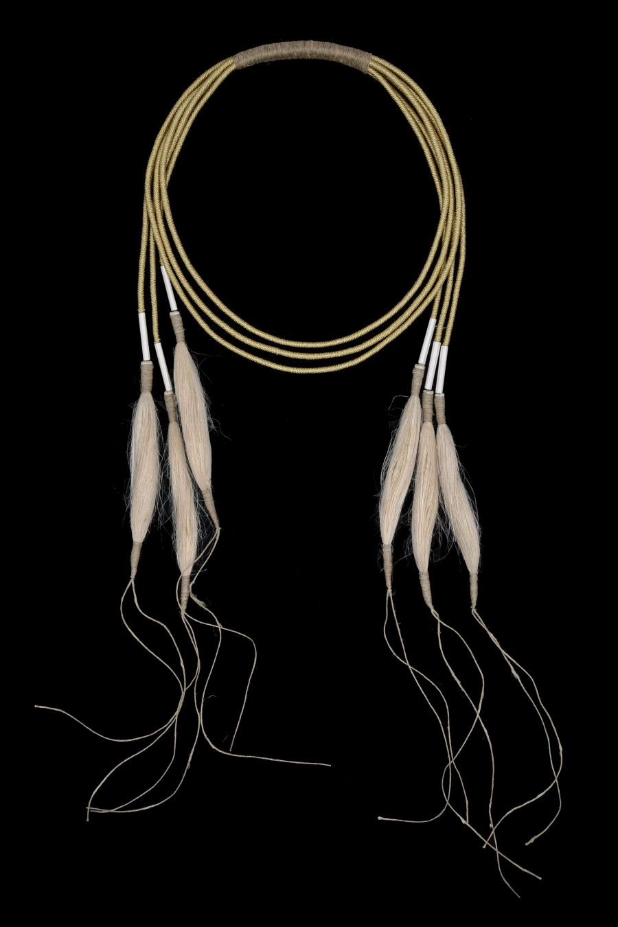 Golden thread jute and stainless steel